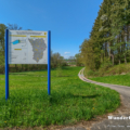 Hochwasserrückhaltebecken am Grundbach