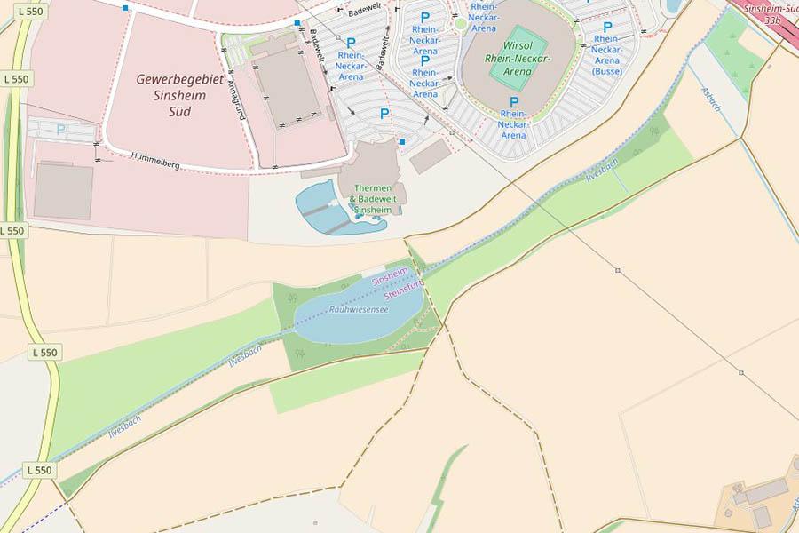 Rauhwiesensee bei Sinsheim